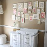 Alphabet Wall - Definitely want to do this is the girls room in different colors