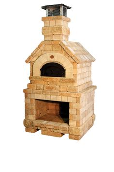Chicago Brick Oven Wood-Fired Pizza Oven - Vesuvio Model