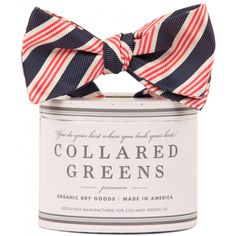 Affirmed Bow in Red, White and Blue by Collared Greens