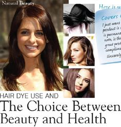 """""""As a matter of fact, information from the National Cancer Institute suggests that 20 percent of all cases of non-Hodgkin's lymphoma (NHL) in women can be attributed to regularly using permanent hair coloring.""""  David Steinman - """"the doctors' prescription for healthy living""""  http://www.light-mountain-hair-color.com/pdf/dr-prescription-newsletter-healthy-living.pdf"""