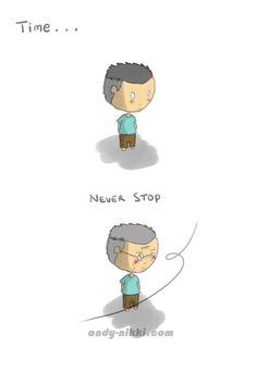 time is never stop-en