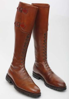 King Alfonso XIII, hunting boots