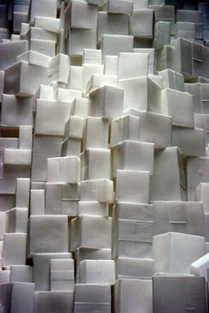 Rachel Whiteread created this installation when she was moving house. the separation of this old and the bringing together of things new. Tate London, Rachel Whiteread, Visual Texture, London Photos, Moving House, Elements Of Art, Land Art, Negative Space, Sculpture Art