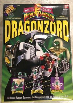 1994 Power Rangers Deluxe Megazord Tor Shuttlezord Horn Part Piece MMPR Bandai