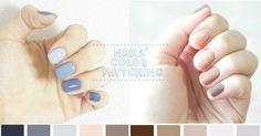 選擇困難症速速走!15款「跳色美甲」配色提案,清新和諧的配色絕對讓你氣質翻倍! Nails Now, Simple Nails, Beauty Hacks, Beauty Tips, Cute Nails, Nail Colors, Nail Designs, Hair Beauty, Nail Polish