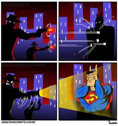 """""""The bullet-bouncing Super-Batman"""""""