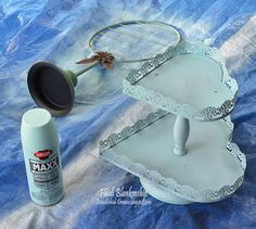 DIY Projects for the Studio - Changing Up Clearance Items with a Little Krylon Spray Paint