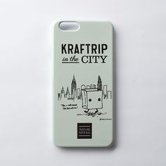KRAFTRIP IN THE CITY iPhone case  -Gray