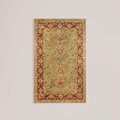 Living room rug...Sage Sarai Wool Rug | World Market