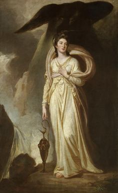 Viscountess Bukeley as Hebe  George Romney