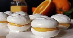 A habcsók és a kellemesen savanykás narancskrém álompárost alkotnak ebben a desszertben.   Hozzávalók   A habcsókhoz  4 tojásfehérje  20... Pavlova Cake, Meringue Pavlova, Afternoon Tea, Oreo, Biscotti, Bakery, Deserts, Food And Drink, Sweets