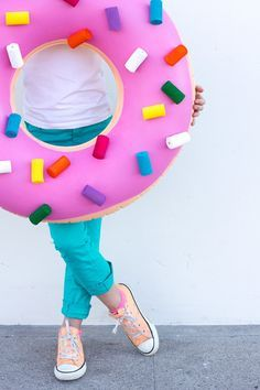 Donut Costume DIY - Halloween