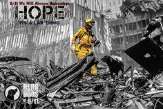 Iconic Rescue #Labrador Picture of 9/11   #ItsaLabThing #911