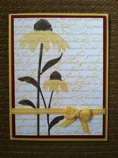 Stampin Up Inspired By Nature