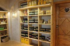 Bonamini (large olive oil distillery and shop, bath products, flavored olive oils, olive wood utensils) - Illasi