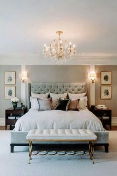 65 exquisitely admirable modern french master bedroom ideas to steal 8 French Master Bedroom, French Bedroom Decor, Modern Bedroom Design, Master Bedroom Design, Contemporary Bedroom, Home Decor Bedroom, Bedroom Ideas, Bedroom Furniture, Bedroom Photos