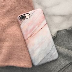 Smoked Coral Marble Case for iPhone 7 & iPhone 7 Plus from Elemental Cases