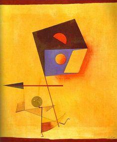 Conqueror, 1930 - by Paul Klee
