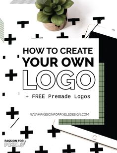Learn how to create your own logo for your blog or brand. Logo and Branding can be expensive when you are first starting out. Here are alternatives to getting a custom logo made.