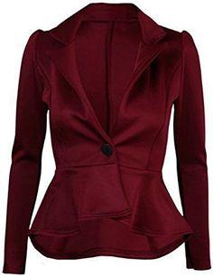 FashionMark Womens Plain Crop 1 Button Peplum Frill Blaze... https://www.amazon.com/dp/B00WNHLBFG/ref=cm_sw_r_pi_dp_x_yaDjybMQ46Q0Q