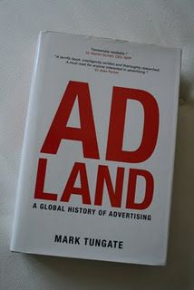 A list of books largely related to advertising.