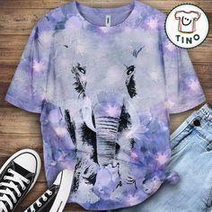 Elephant Shirt Elephant Shirt, Border Collie, Tie Dye, Lovers, Animal, Poster, Shirts, Tops, Women