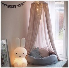 Cozy spot in a little girls room