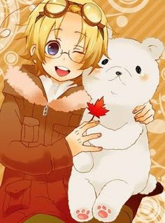 Day 5: the character I would have as my child is Canada! I would always be able to notice him... maybe
