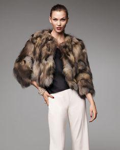 Cross Fox Fur Chubby - Neiman Marcus