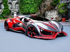 1400 HP Inferno 'Exotic Car' Will Hit Production In Next Couple Of Months - Cars and motor Maserati, Bugatti, Carros Lamborghini, Lamborghini Aventador, Lamborghini Concept, Sweet Cars, Sexy Autos, Futuristic Cars, Expensive Cars