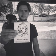 ¿Ya conociste la propuesta de @rsolorsolo junto a @sinmordaza?  El nuevo proyecto de Rodrigo Gonsalves no es solo música... Busca introducirse en el mundo del arte para también apoyar los DDHH #NoEstasSolo ¡entérate como participar a través de sus redes!