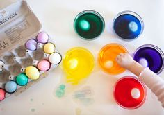 Easter egg activity for parents and kids