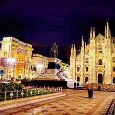 #Italy #Lombardia #Milano #Milan #duomomilano #duomo #cathedral #piazzadelduomo #square #arch #archway #gothic #pinnacles #architecture #lights #nightlights #nightview #nightsight #nightphotography #longexposure #citylights #urbanscape #emptysquare #ig_lombardia #ig_milano #loves_milano #milanocity #milanodavedere by attila.55
