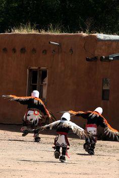 on the Tesuque Pueblo, NM