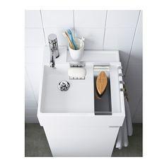 LILLÅNGEN Tvättställ 1 ho, vit vit 40x41x13 cm