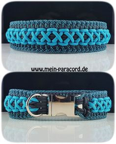 "Paracord Hundehalsband ""Majestic"". www.mein-paracord.de"