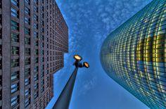 Kollhoff- and Train-Tower in Berlin von Frank Haase auf #500px