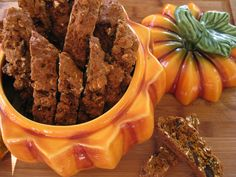 How could I let this pumpkin season go by without filling my cookie jar with pumpkin biscotti!!  These are so full of fall flavors that my kitchen immediately filled with the warm aroma of pumpkin …