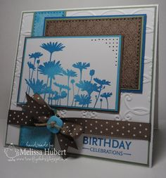 My Paper Obsession: Happy Birthday at the 4 Crafty Chicks!