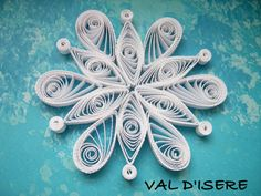Singolo fiocco di neve da NISEKO set carta di OrnamentHouse