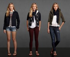 A & F looks: Abercrombie and Fitch