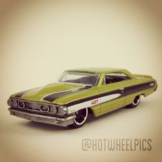 #113 - Custom '64 Galaxie 500 - 2012 Hot Wheels - Muscle Mania - KMART Exclusive