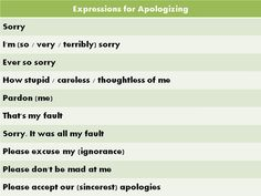 Forum | Learn English | Top 10 Phrases for Apologising in English | Fluent Land
