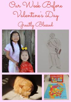 Greatly Blessed: Our Week Before Valentine's Day #homeschool