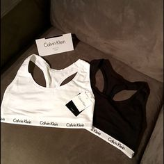 (One left) Calvin Klein bra bundle ❤️ black/white Black and white bra bundle, NWT super trendy right now and selling fast ❤️ (1 small left in black and white bundle) Calvin Klein Intimates & Sleepwear Bras