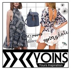 """YOINS-Fashion"" by sabine-rose ❤ liked on Polyvore featuring Anja, polyvorecommunity, polyvoreeditorial, yoins, PolyvoreMostStylish and 2016trends"