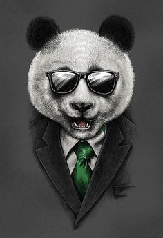 AGENT PANDA Design by dzeri29