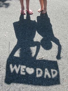 We heart Dad! - this would require me to enlist so very talented help I am thinking Kory Chase!
