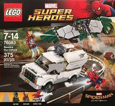 Lego Marvel Super Heroes Spider-man Beware The Vulture 76083 for sale online Lego Marvel Spiderman, Lego Marvel's Avengers, Batman, Lego Marvel Super Heroes, Superhero, Bionicle Heroes, Lego Bionicle, Power Rangers, Vulture Marvel
