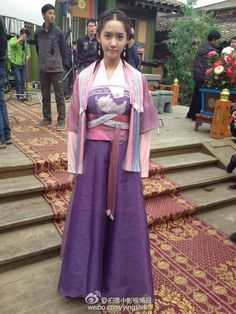 SNSD YoonA Outfit in God of War Zhao Yun